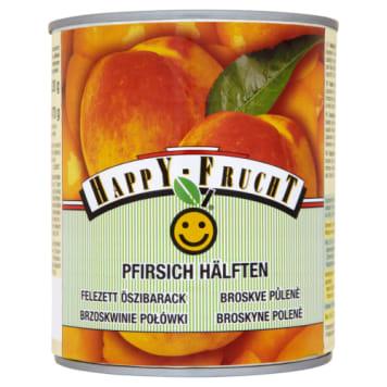 Brzoskwinie połówki - Happy Frucht. Doskonały dodatego do świetnych deserów.