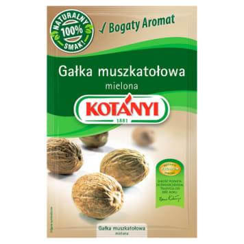 Gałka muszktałowa mielona Kotanyi - wyjątkowo wszechstronna w kuchni