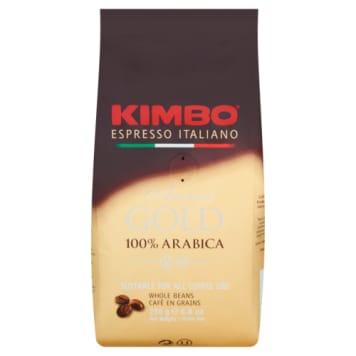 Kawa 100% arabica ziarnista - Kimbo pozwala na codzienne mielenie na świeżo.