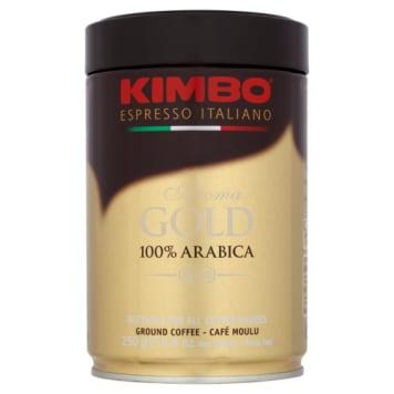 Kawa 100% arabica mielona w puszce - Kimbo zachowuje swoje właściwości na długo.