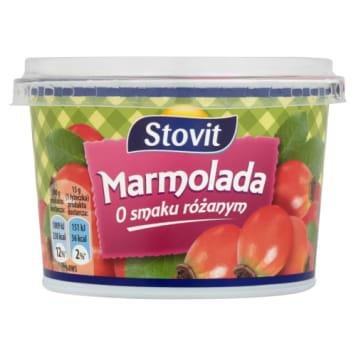 Marmolada różana, 320 g – Stovit. Łatwa w rozprowadzaniu o owocowym posmaku.