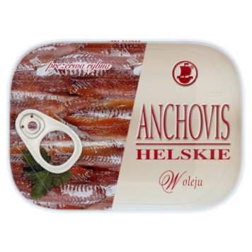 Anchoivs helskie w oleju - Koga Maris. Pyszne, rybne dania w każdej kuchni.