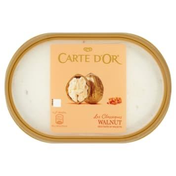 Lody orzechowe ALGIDA CARTE dOr 1000ml, rozkoszny smak lodów z dodatkiem karmelizowanych orzechów.