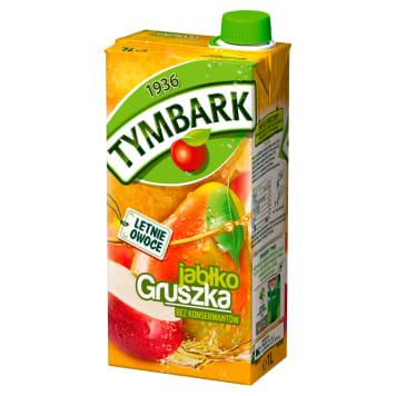 Tymbark - Jabłko Gruszka Napój owocowy 1000ml. Gwarancja najlepszego smaku.