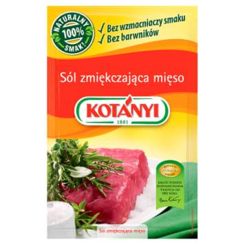 Sól zmiękczająca mięso - Kotanyi. Wyjątkowy mix przypraw niezbędny w każdej kuchni.