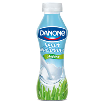 Naturalny Jogurt bez cukru - Danone. Zdrowa przekąska w ciągu dnia.