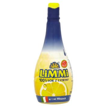 Naturalny sok z cytryny - Limmi