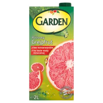 Napój Różowy Grejpfrut GARDEN 2000ml. Pasteryzowany napój o smaku różowego grapefruita.