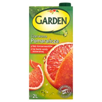 Napój czerwona pomarańcza 2000ml - Garden to pojemne opakowanie, któe starczy dla całej rodziny.