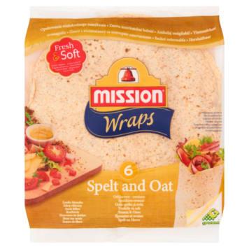 Wraps Tortilla pszenna orkiszowo-owsiana - Mission
