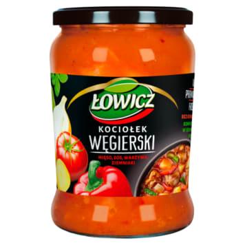 Węgierski kociołek warzyw - Łowicz to pełnowartościowe danie jednogarnkowe.