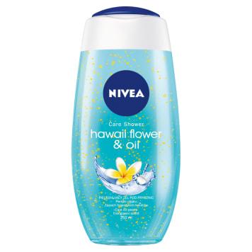Nivea - Żel pod prysznic Hawaiian Flower&Oil. Do codziennej pielęgnacji skóry ciała.