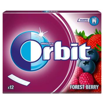 Orbit – Forest Berry Guma do żucia nie zawiera cukru i pomaga dbać o zęby.