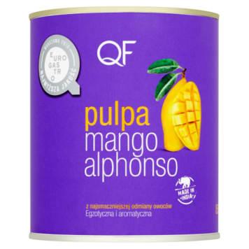 Pulpa z mango Alphonso QF - doskonały przecier owocowy. Naturalny kolor i gładka konsystencja.
