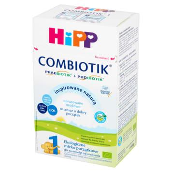 Mleko początkowe dla niemowląt-Hipp.Odpoweidnie dla potrzeb żywieniowych noworodków.