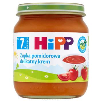Hipp - Zupka pomidorowa po 7 miesiącu. Pyszny i zdrowy posiłek.