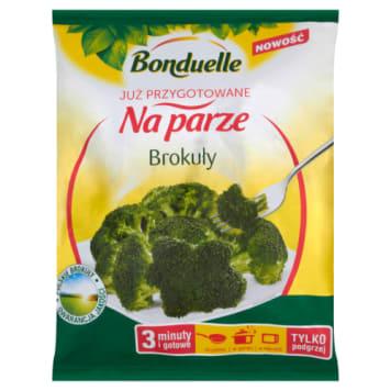 Bonduelle - Mrożone różyczki brokułów. Wysokiej jakości warzywa ugotowane na parze.