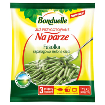 Bonduelle – Mrożona zielona cięta fasolka szparagowa została przygotowana w ciągu jednego dnia.