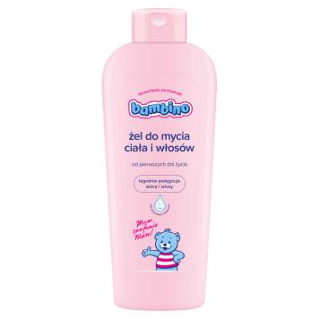 Żel do mycia - Bambino. Żel do mycia włosów i ciała, nie zawierający niebezpiecznych substancji.