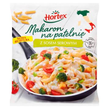 Makaron na patelnię – Hortex. Pyszna potrawa, którą można przyrządzić błyskawicznie.