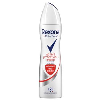 Antyperspirant w aerozolu dla kobiet – Rexona to 48-godzinna ochrona przed potem i nieprzyjemnym zapachem.