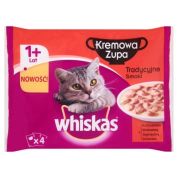 Kremowa zupa - Whiskas. Tradycyjny przysmak dla Twojego pupila.