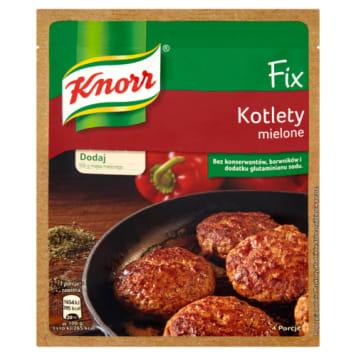 KNORR FIX kotlety mielone 64g. Idealne połączenie przypraw, by nadać potrawie tradycyjnego smaku
