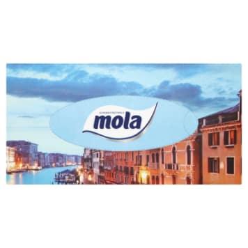 Mola -  Chusteczki kosmetyczne 120 sztuk. Stanowią niezbędny element w każdym domu.