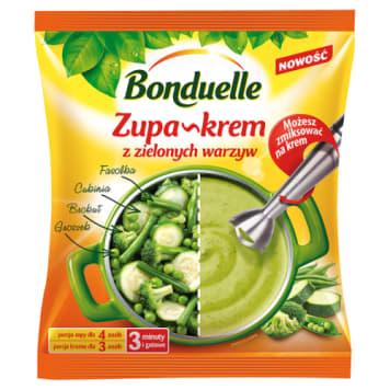 Zupa krem z zielonych warzyw – Bonduelle doskonała na domowy obiad.