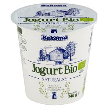 Bakoma Jogurt naturalny Bio idealny na śniadanie, do sałatek i dipów.