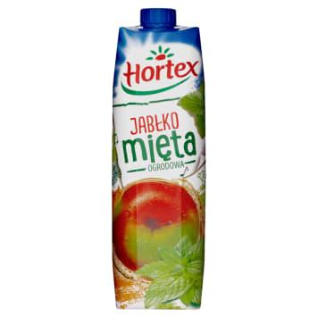 Hortex – Napój jabłko-mięta w kartonie skutecznie gasi pragnienie i doskonale smakuje.