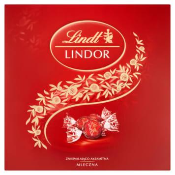 Lindt - Praliny z mlecznym nadzieniem Lindor. Wykwintne czkoladki dla najbardziej wymagających.