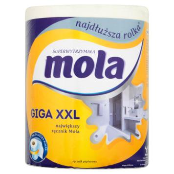 Ręcznik papierowy - Mola to niezwykle chłonny i wydajny produkt.