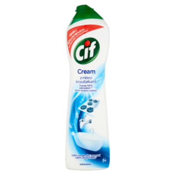 Cif - Mleczko do czyszczenia powierzchni. Skutecznie usuwa zabrudzenia.