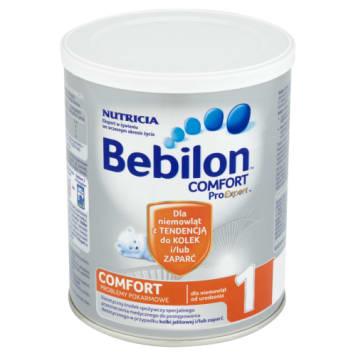 Bebilon Comfort 1 ProExpert Dietetyczny środek spożywczy dla niemowląt od urodzenia 400 g