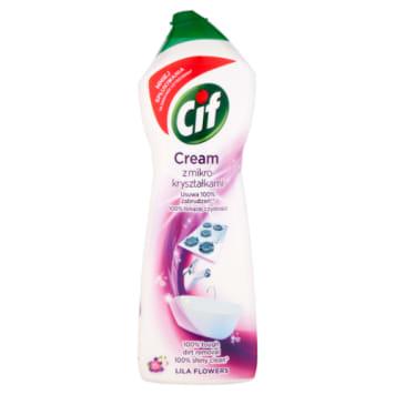 Cif - Mleczko do czyszczenia o zapachu lilli. Skuteczny środek o trwałym, eleganckim zapachu.