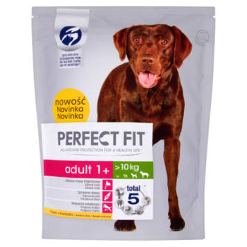 PERFECT FIT ADULT 1+ Dry Food Complete for Adult Large and Medium Breeds of Dogs 825 g