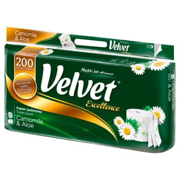 VELVET Excellence Toilet paper chamomile aloe 1pc
