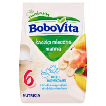 Kaszka manna owocowa - Bobovita. Pożywne i wartościowe śniadanie dla malucha.