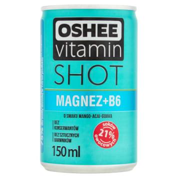 Vitamin Shot napój niegazowany z magnezem i witaminą B6 - Oshee