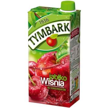 Tymbark - Napój wiśniowo-jabłkowy. Całkowicie naturalny i bez konserwantów.