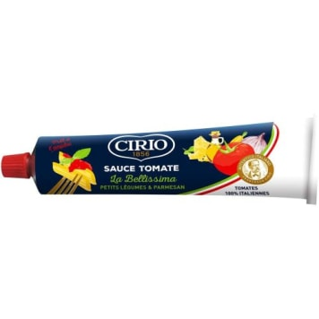 CIRIO Tomato pasta with vegetables and cheese 180 g