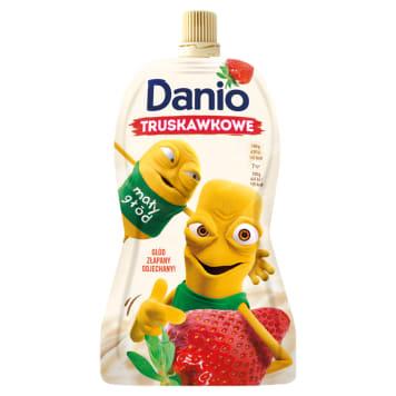 DANONE DANIO Strawberry homogenised cheese - sachet 140g