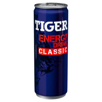 Tiger Energy Drink - Napój energetyzujący. Dodaje energii i działa jak kawa.