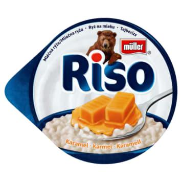 Myller Ryż z karmelem Riso to deser ryżowy, który zaspokoi nagły głód i dostarczy wapnia i białka.