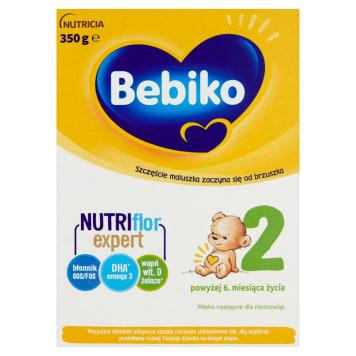 Mleko modyfikowane -BEBIKO 2. Odpowiednie dla niemowlat powyżej 6 miesiąca życia.