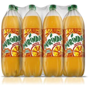 MIRINDA Orange Fizzy Drink 15l