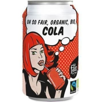 OXFAM Cola BIO Fair Trade 7.92l