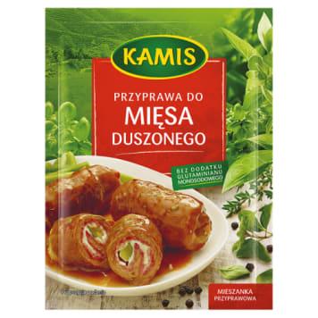 Przyprawa do mięsa duszonego – Kamis to mięso o lekko korzenno-leśnym smaku i aromacie.