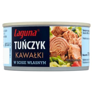 Tuńczyk w kawałkach w sosie własnym - Laguna. Zdrowie i pyszny smak w jednej puszce.